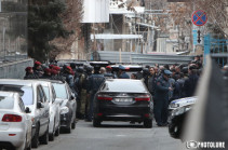 Erebuni Plaza shooter transported to police department in police chief's service car