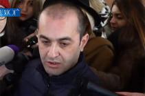 Քննիչները ՍԴ նախագահ Հրայր Թովմասյանին թույլ չեն տալիս ծանոթանալ դատարանի որոշմանը. Ամրամ Մակինյան (Տեսանյութ)