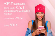 "Viva-MTS: ""+3GB"" Internet package within ""X"", ""Y"" and ""Z"" tariff plans"