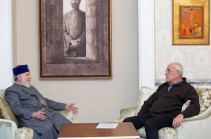 Գարեգին Բ-ն և Պերճ Սեդրակյանը քննարկել են Էջմիածնի Մայր Տաճարի ամրակայման և հիմնանորոգման ծրագիրը համազգային ջանք դարձնելու հարցը