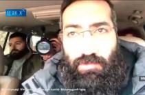 Как подвергают приводу в полицию Артура Даниеляна и других оппозиционеров (Видео)