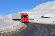 Ստեփանծմինդա-Լարս ավտոճանապարհը բաց է բոլոր տիպի տրանսպորտային միջոցների համար