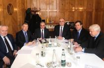 В Женеве стартовала встреча министров иностранных дел Армении и Азербайджана