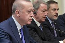 Эрдоган осудил «сделку века» Трампа