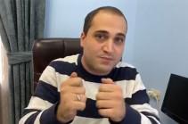 На нас оказывают политическое давление, но мы ничего не боимся – Нарек Самсонян
