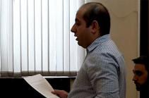Адвокаты Роберта Кочаряна представили ходатайство об отводе судьи Армена Даниеляна