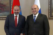 Пашинян: Надеюсь, что правительство России поддержит экономическую динамику, которая есть в Армении