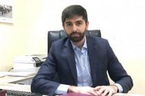 Arman Khojoyan new deputy minister of economy