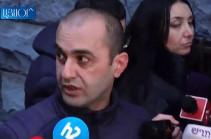 Ruben Hayrapetyan's car kept in police illegally: lawyer