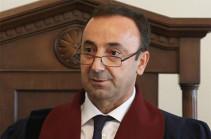 Председатель Конституционного суда Грайр Товмасян направил поздравительное послание по случаю 24-й годовщины основания КС