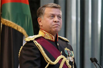 Abdullah II of Jordan to visit Armenia
