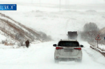 Автодорога Степанцминда – Ларс закрыта для всех видов транспортных средств