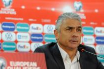 Աբրահամ Խաշմանյանը լքել է Հայաստանի հավաքականի գլխավոր մարզչի պաշտոնը