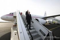 Никол Пашинян с рабочим визитом прибыл в Германию