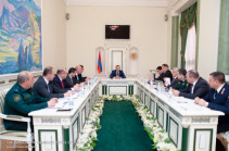 Armenia's Prosecutor General convenes discussion, promises to undertake steps to eradicate criminal sub-culture in armed forces