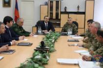 ՀՀ գլխավոր դատախազն ու ՊԲ հրամանատարը քննարկել են զինված ուժերում վերջին շրջանում տեղ գտած արտակարգ դեպքերը