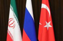 В МИД Турции подтвердили, что Анкара, Москва и Тегеран согласовывают дату саммита по Сирии