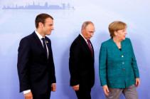 Путин, Меркель и Макрон поддержали соблюдение перемирия в Ливии