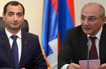 Бако Саакян присвоил главе Следственного комитета Арцаха классный чин государственного советника юстиции
