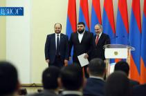 Վարչապետը Հայաստանի 10 լավագույն մարզիկներին պարգևատրեց 5-ական միլիոն դրամով (Տեսանյութ)