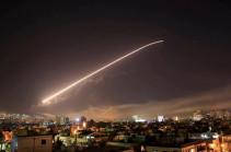 Дамаск подвергся ракетному обстрелу (Видео)