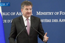 Мирослав Лайчак: Встречи премьер-министра Армении и президента Азербайджана – положительные развития