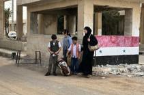 В Сирию за сутки вернулись более 800 беженцев из Иордании и Ливана