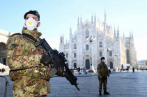 Five deaths from coronavirus reported in Italy