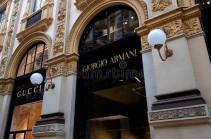 Армани временно закрыл свои фабрики и офисы в Италии из-за коронавируса