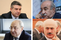 Three ex-premiers to apply to court for changing Robert Kocharyan's preventive measure under their personal guarantees