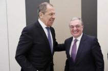 Հայաստանի և Ռուսաստանի ԱԳՆ ղեկավարները քննարկել են ղարաբաղյան կարգավորումը (Տեսանյութ)