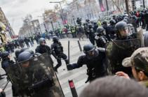 Փարիզում անկարգությունների ժամանակ ձերբակալվածների թիվը հասել է 71-ի