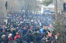 Թուրքիան բացել է ԵՄ-ի հետ սահմանները փախստականների համար