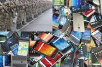 У военнослужащих обнаружено несколько сотен смартфонов – Минобороны Армении призывает воздержаться от предоставления несанкционированных телефонов