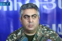 Арцрун Ованнисян покидает пост пресс-секретаря Минобороны Армении