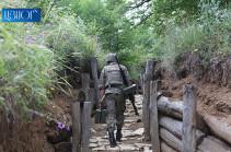 Азербайджан за неделю произвел в направлении армянских позиций свыше 1700 выстрелов
