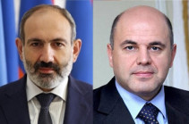 Armenia's PM holds phone conversation with Russian counterpart