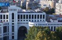 Azerbaijan intentionally escalates the situation on the Armenian-Azerbaijani state border: Armenia's MFA