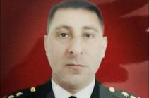 Azerbaijani lieutenant colonel killed on the front line
