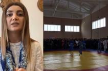 Էջմիածնում մեկ շաբաթով կփակվի սպորտդպրոցը. չեղարկում եմ այսօր Զվարթնոցում նախատեսված իմ քարոզարշավը. Դիանա Գասպարյան (Տեսանյութ)