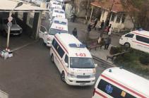 Для тестирования на коронавирус 5 граждан доставлены в Инфекционную больницу Ванадзора