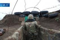 Շաբաթվա ընթացքում հայ դիրքապահների ուղղությամբ հակառակորդն արձակել է շուրջ 2000 կրակոց