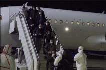 Из Рима в Ереван прибыли 67 граждан Армении, они изолированы