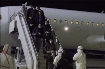 Sixty-seven citizens return to Armenia from Rome (video)