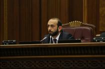 Арарат Мирзоян поручил подготовиться к возможному заседанию парламента в связи с вопросом введения чрезвычайной ситуации