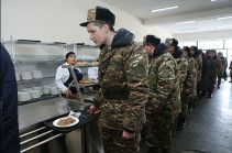 Armenia's Armed Forces ensured with necessary food and hygiene means: DM