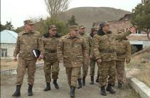 ՀՀ զինված ուժերի գլխավոր շտաբի պետն այցելել է զորամասեր