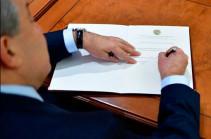 Նախագահը ստորագրել է ոստիկանապետի ու ԱԱԾ տնօրենի նշանակման հրամանագրերը