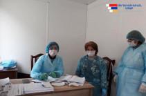 Հայաստան-Արցախ անցակետերում շարունակվում են հակահամաճարակային միջոցառումները