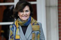 Իսպանիայի փոխվարչապետը կորոնավիրուսի կասկածանքով հոսպիտալացվել է